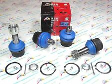 4WD 4PCS Front Lower & Upper Ball Joints 80-96 F150 F250 Bronco K8195 K8388