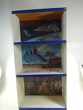 VTG 1983 STAR WARS Bookshelf Bookcase Display ROTJ American Toy & Furniture Co a