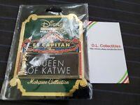 Disney FAB Queen Of Katwe El Capitan DSSH DSF Marquee LE 300 Pin