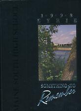 Park Ridge IL Maine South HIgh School yearbook 1998 Illinois
