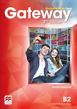 Macmillan GATEWAY B2 2nd Edition Student's Book Pack w Resource Centre Acc @NEW