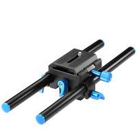 Neewer 15mm Alluminum Alloy Universal Rail Rod System Mount for DSLR Camera