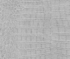 Snake Skin Effect African Queen Wallpaper Grey