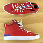 Converse Chuck Taylor All Star Ultra Mid USA Red White Blue Shoes 166980C Size