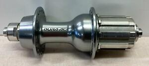 new Shimano DURA ACE FH-7801 rear 36 hole 10speed silver bicycle HUB