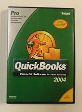 Quickbooks Pro 2004, Small Business Financial Software w/Product Key