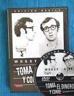TOMA EL DINERO Y CORRE (TAKE THE MONEY AND RUN, Woody Allen!). SIN VISIONAR!