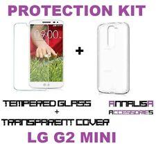 CUSTODIA COVER + PELLICOLA VETRO TEMPERATO LG G2 MINI D620 CASE + TEMPERED GLASS