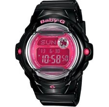 Casio Baby-G * BG169R-1B Glossy Solid Black Gloss w/ Pink Face COD PayPal