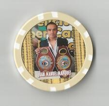 "JUAN MANUEL MARQUEZ ""DYNAMITA""     FIGHT COLLECTOR  CHIP"