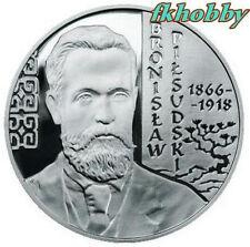 Poland 2008 silver 10 zl Bronislaw Pilsudski