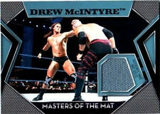 WWE Drew McIntyre Topps 2011 Masters of the Mat Event Used Relic Card FD