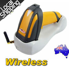 2017 Wireless Laser USB Barcode Scanner Handheld Portable+Contact Base Holder AU