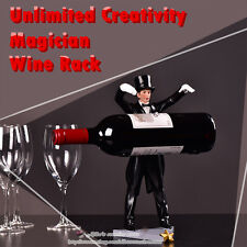 Creative Ornament Magician Resin Wine Rack, Home Bar Restaurant Creative Decor