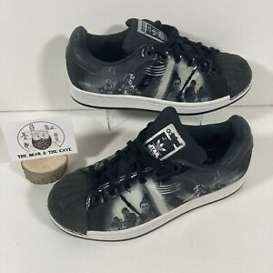 RARE Adidas Superstar Limited Edition Star Wars Trainer Shoes Black Gift - UK 4