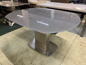 Furniture Village Grey Flow extendable Dinning table RRP £1699+