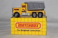 "MATCHBOX SUPERFAST #30 PETERBILT DUMP TRUCK, ""DIRTY DUMPER"", EXCELLENT, LOT F"