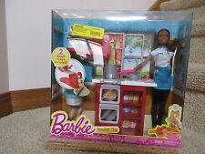 Barbie AA Doll Spaghetti Chef Kitchen Pasta pot pan set Dough Play Toy New 2015