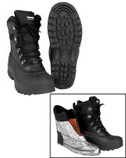 Mil-Tec Thermostiefel Leder-gummi Thinsulate 43 Winterstiefel BOOTS