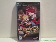 BRAND NEW Disgaea 2: Dark Hero Days PlayStation Portable Sony PSP SEALED!