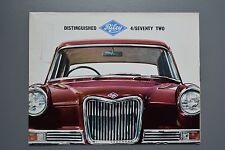 Vintage Brochure: Riley 4/72 Four Seventy Two, No.6560