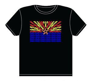 Arizona Flag Chain Link T Shirt Cycling Road Mountain Bike