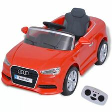 vidaXL Elektrische Speelauto met Afstandsbediening Audi A3 Rood Speelgoed Auto