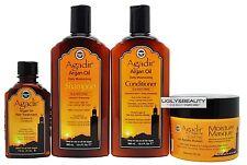 Agadir Argan Oil Moisturizing Shampoo&Conditioner 12.4 Oz, Masque 8 Oz, Oil 4 Oz