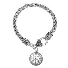 supernatural SILVER SIGIL OF 7 ARCHANGEL ST.MICHAEL Uriel PROTECTION Bracelet