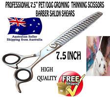 "NEW BARBER Salon Shears Professional 7.5"" PET DOG Grooming Thinning Scissors"