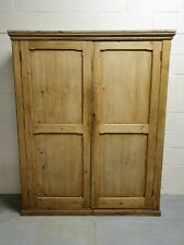 More details for a victorian country pine school cupboard house keeper's cupboard larder