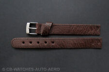 Quality Brown Montana Leather Vintage Style Open-Ended Watch Strap 10mm-20mm