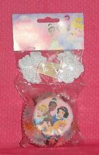 Disney Princess Cupcake Papers/Picks,Wilton,Pink,Cake Decoration,Multi-Color