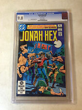 JONAH HEX #61 CGC 9.8 TOP GRADED, WESTERN, LAIR OF MANCHUS, NONE NICER