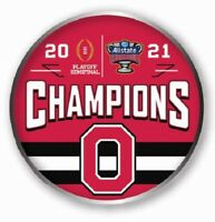 2021 SUGAR BOWL OHIO STATE BUCKEYES CFP CHAMPIONS ? GAME PIN COLLEGE TITLE GAME
