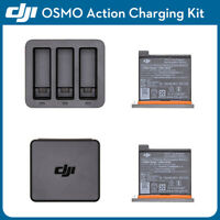 Original DJI OSMO Action Camera Battery Charging Kit Charger Case Spare Parts
