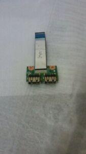 HP COMPAQ PRESARIO CQ57 SCHEDA LOGICA 2 USB CON FLAT