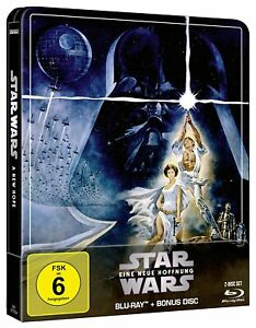 Star Wars: Episode 4 - A New Hope (Blu-ray Steelbook) Brand New & Sealed