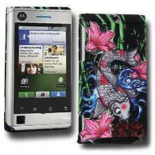 Koi Click On Case Cover for Motorola DEVOUR A555