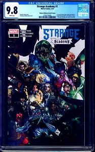 Strange Academy #1 CGC 9.8 WALMART BLUE LOGO 2nd EDITION RARE VARIANT NM/MT
