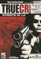 Pc Game - True Crime - Streets of L.A. - LA