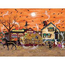 HALLOWEEN HAYRIDE by Kemon Sermos - NEW - 1000 piece HALLOWEEN Puzzle