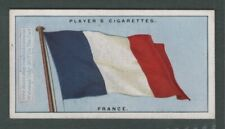 The Flag Of France French 1920s Ad Trade Card
