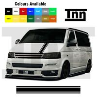Bonnet Stripe Sticker For VW Volkswagen Transporter Sticker T4 T5 T6 Vinyl Decal