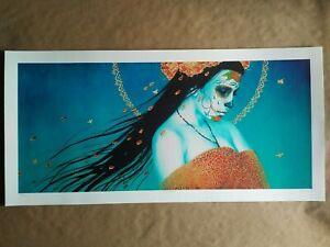 Sylvia Ji - Blue Drift - 2012 - Giclee - Art Print - Official, Limited Edition