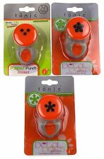 Paper Punches Petal Pairs Petite Flowers Medium Craft Cards Set 3 Tonic Studios