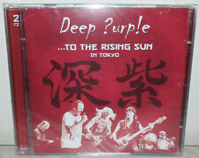 2 CD DEEP PURPLE - TO THE RISING SUN - TOKYO -  NUOVO NEW
