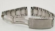 Rare 1970's Mens Rado Stainless Steel Watch Bracelet 03676, Folded Links! Signed