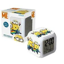 Minions Digital Alarm Clock ME3-DALC - Gift Christmas Learn Time School Uk