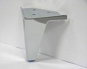 New 4 x Chrome Steel Furniture Leg Metal Sofa feet Cabinet stool ottoman, Chair